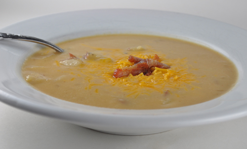 Beer Cheese Potato Soup