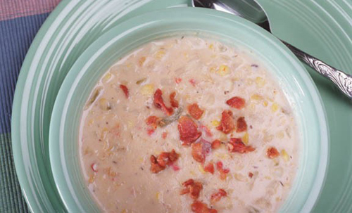 Freezer Aisle Corn Chowder