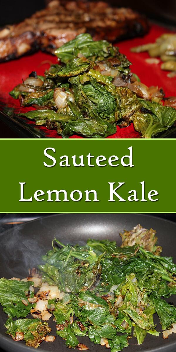 Sauteed Lemon Kale