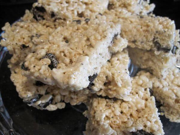 Oreo Rice Krispie Treats - Easy Culinary Concepts