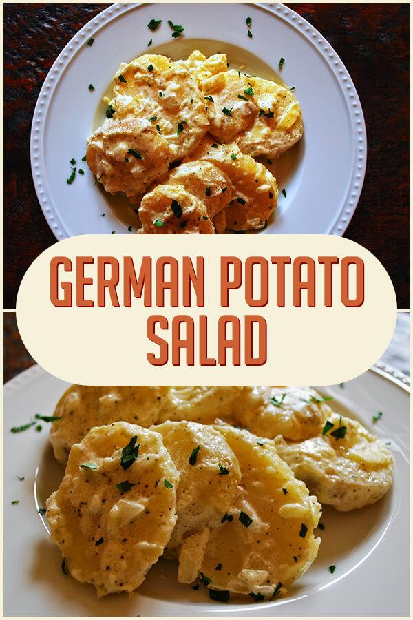 German Potato Salad - Easy Culinary Concepts #potatosalad #potatorecipes